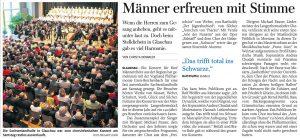 24.10.2011 – Männer erfreuen mit Stimme – Christa Demmler