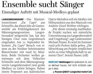 19.05.2012 – Ensemble sucht Sänger – Annegret Riedel