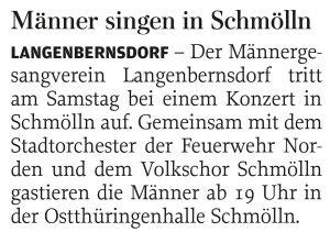 20.09.2012 – Männer singen in Schmölln