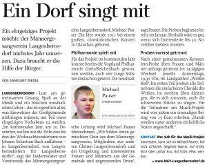 24.10.2012 – Ein Dorf singt mit – Annegret Riedel