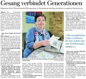 24.10.2012 – Gesang verbindet Generationen – Petra Wötzel