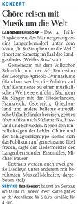 17.04.2013 – Chöre reisen mit Musik um die Welt – Annegret Riedel