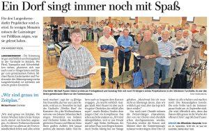 15.07.2013 – Ein Dorf singt immer noch mit Spaß – Annegret Riedel