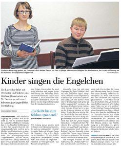 06.11.2013 – Kinder singen die Engelchen – Annegret Riedel