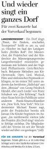 08.06.2016 – Und wieder singt ein ganzes Dorf – Annegret Riedel
