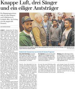 18.07.2016 – Knappe Luft, drei Sänger und ein eiliger Amtsträger – Konrad Rüdiger