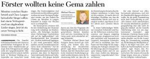 08.08.2016 – Förster wollten keine Gema zahlen – Konrad Rüdiger