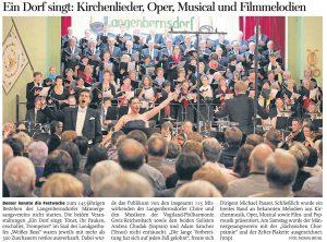 01.11.2016 – Ein Dorf singt: Kirchenlieder, Oper, Musical und Filmmelodien – Thomas Michel