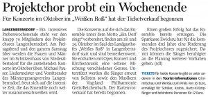 13.06.2017 – Projektchor probt ein Wochenende – Annegret Riedel
