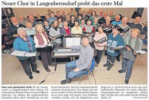 04.01.2019 – Gesangverein probt das erste Mal – Annegret Riedel